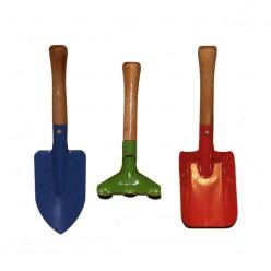 Две лопатки и грабли для детей.-Товары для детей-bakida-qiymeti-almaq-baku