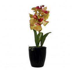Искуственный цветок орхидея-Оформление интерьера-bakida-qiymeti-almaq-baku