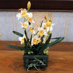 Искуственный Нарцис-Оформление интерьера-bakida-qiymeti-almaq-baku