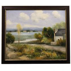 Домик в деревне-Рамы и картины-bakida-qiymeti-almaq-baku