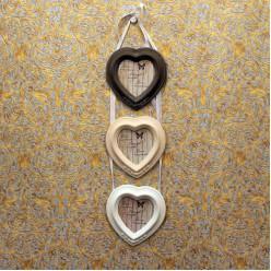 Фото рамка 3 сердечки-Рамы и картины-bakida-qiymeti-almaq-baku