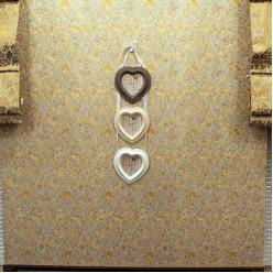 Фото рамка 3 сердечки