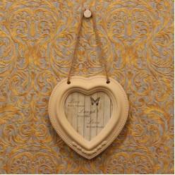 Фото рамка в форме сердечки в винтажном стиле-Рамы и картины-bakida-qiymeti-almaq-baku