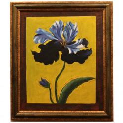 "Картина на маслянной краске ""Синий Цветок""-Рамы и картины-bakida-qiymeti-almaq-baku"