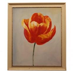 "Картина на маслянной краске ""Цветок""-Рамы и картины-bakida-qiymeti-almaq-baku"