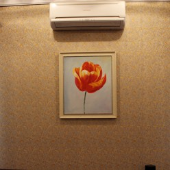 """Картина на маслянной краске """"Цветок"""""""