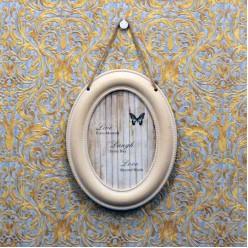 Овальная фото рамка на стену в винтажном стиле-Оформление интерьера-bakida-qiymeti-almaq-baku