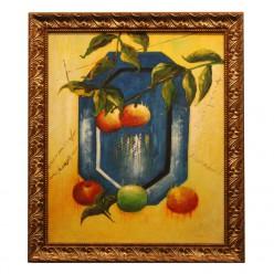 "Картина на маслянной краске ""Яблоки""-Рамы и картины-bakida-qiymeti-almaq-baku"