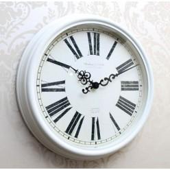 Divar saatı ağ-Divar saatı-bakida-qiymeti-almaq-baku