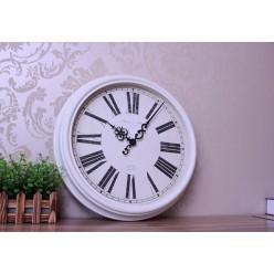 Настенные часы белые