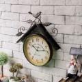 Настенные часы домик птицы