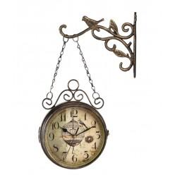 Настенные часы двухсторонние на подвесе-Настенные часы-bakida-qiymeti-almaq-baku