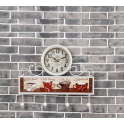 Настенные часы кофе капучино-Часы-bakida-qiymeti-almaq-baku