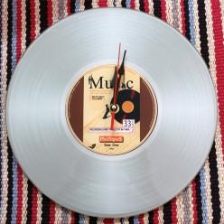 """Настенные часы """"Музыкальная пластинка""""-Оформление интерьера-bakida-qiymeti-almaq-baku"""