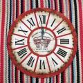 Винтажные настенные часы с римскими цифрами
