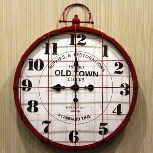 Divar saatı Old Town qırmızı
