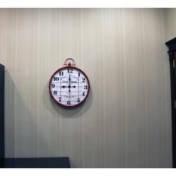 Настенные часы Old Town красный