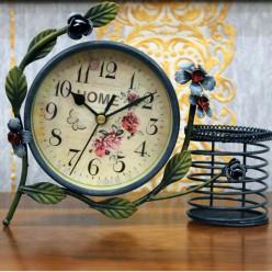 Настольные часы с Home Flower-Оформление интерьера-bakida-qiymeti-almaq-baku