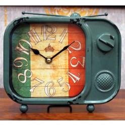 Винтажные настольные часы с флагом Италии-Часы-bakida-qiymeti-almaq-baku