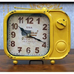 Настольные часы с флагом США-Оформление интерьера-bakida-qiymeti-almaq-baku