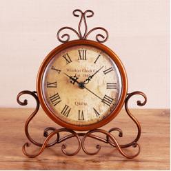 Настольные часы ретро стиль-Настольные часы-bakida-qiymeti-almaq-baku