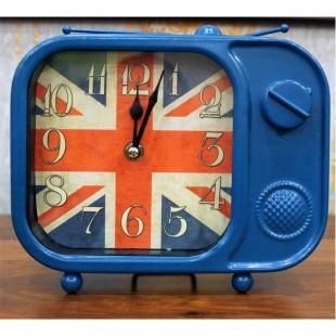 Stol üstü saat Böyük Britaniya bayrağı ilə