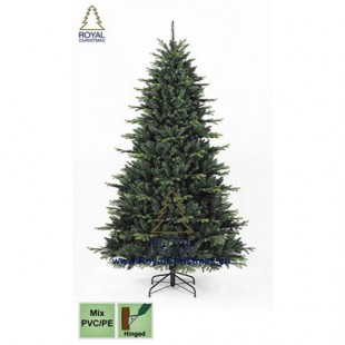 Новогодняя елка ROYAL CHRISTMAS COLOMBIA PE  PVC PREMIUM NATURE TREE - HINGED ( 1.8 м)
