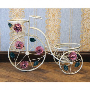 Винтажный велосипед подставник для цветов