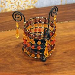 Подсвечник в форме стакана-Оформление интерьера-bakida-qiymeti-almaq-baku