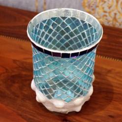 Подсвечник стакан мозайка-Подсвечники и свечи-bakida-qiymeti-almaq-baku