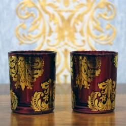 Два стаканчика для свечи