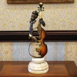 Скрипач со скрипкой-Оформление интерьера-bakida-qiymeti-almaq-baku