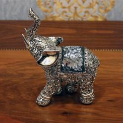Слон маленький с хоботом наверх-Оформление интерьера-bakida-qiymeti-almaq-baku