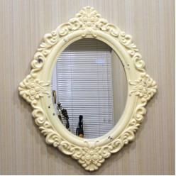 Зеркало белое классическое-Гостиная-bakida-qiymeti-almaq-baku