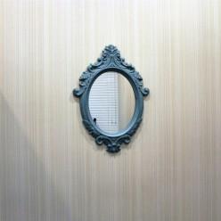 Зеленое интерьерно зеркало