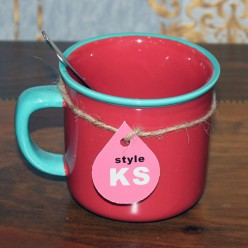 Красная чашка-Чашки-bakida-qiymeti-almaq-baku