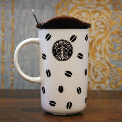 Чашка с логотипом Starbucks -Сервировка-bakida-qiymeti-almaq-baku