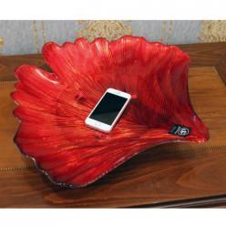 Ваза для фруктов Красный Лепесток