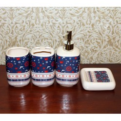 Набор для ванной - мыльница, дозатор для жидкого мыла, стакан, стакан для зубных щеток-Ванная-bakida-qiymeti-almaq-baku
