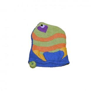 Мочалка зеленная рыбка